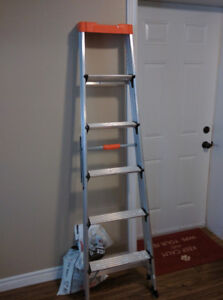 Moving sale! 6 foot aluminum ladder