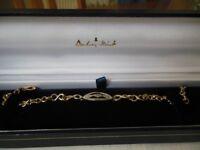Danbury Mint I Love You Bracelet