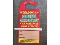 Reading Festival Green Car Park Pass
