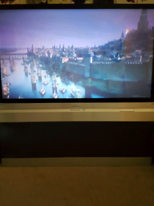 61 inch rear projection tv $20