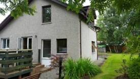1 bedroom spacious private property 6 miles west of Inverness