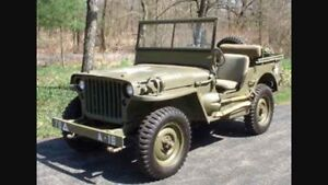 Wanted a 1940's Willy's Jeep