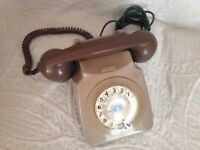 vintage rotary house phone.