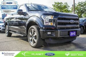 2015 Ford F-150 Lariat|SUPERCREW|ROOF|NAVI|LEATHER|FORD CERTIFIE