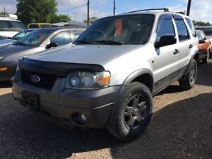 2005 Ford Escape XLT CALL 519 485 6050 CERTIFIED