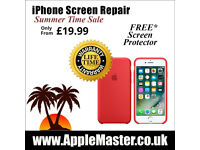iPhone Screen Repair - Express 30 Minutes - iPhone: 7, 6, 6s, 5,5s,4s Plus + Quick Apple Fix Service