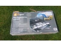 Hi gear elite double burner and grill