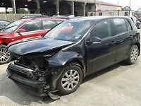 VW GOLF MK5 1.9 TDI 2007 BLACK BXE DRIVERS DOOR**breaking for spares**