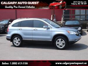 2011 Honda CR-V EX-L ALL WHEEL DRIVE/LEATHER/SUNROOF