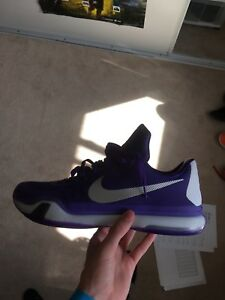 "Size 14 Nike Kobe 10 ""Moon walker"" SAMPLE"