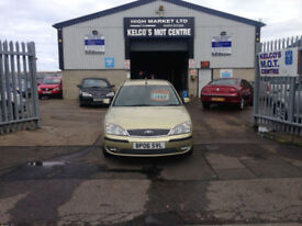 Ford Mondeo 1.8 Nav 2006.5MY Zetec only 63189 MILES