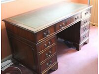 Reproduction Oak Office Desk