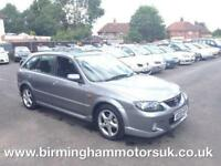 2003 (03 Reg ) Mazda 323 2.0 SPORT 5DR Hatchback GREY + LOW MILES