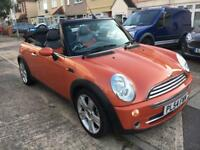 Mini Cooper convertible 1.6 petrol manual