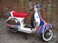 Ron Daley Special Customised Vespa PX 125 - Mint Condition, Garaged & Very Low Mileage