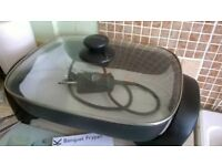 Electric frying pan, very good condition