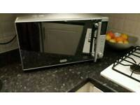 Microwave (hardly used) now £35