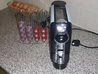ambiano coffee machine with pods and pod holder