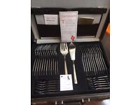 SBS Bestecke 24 carat gold cutlery set/canteen. (With certificate)