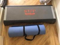 Reebok step and exercise mat./ yoga mat
