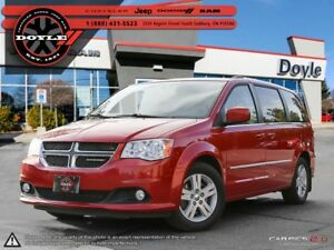 2013 Dodge Grand Caravan CREW STOW'N'GO W/REAR DVD 1-OWNER TRADE