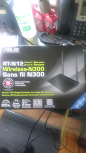 Asus Rt-N12 wireless router *VPN ready*