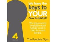 ROOMS UP FOR GRABS! Come down to the busiest gym in Shrewsbury for more details.
