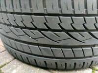 Continental cross contact 265/40R21 105Y Tubeless used
