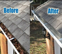 Save now! Affordable gutter cleaning and repairs!