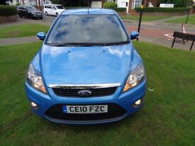 2010 Ford Focus 1.6 TDCi DPF Zetec 5dr [LONG MOT+FSH+PARK AID+2 LADY OWNERS+WARRANTY]