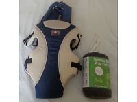 Baby carrier and bamboo baby wrap for sale for £15