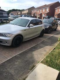 Bmw 1 series long mot