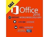 ORIGINAL OFFICE PROFESSIONAL PLUS 2016 32 /64BIT
