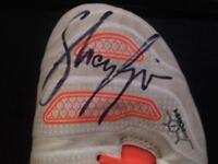 shay givens signed football boots