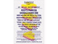 2 weekend Farmfest tickets