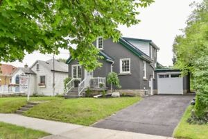 Newly renovated home with possibility for a Duplex.