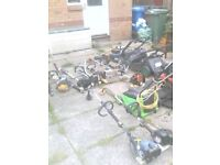 VARIOUS PETROL POWER TOOLS FOR SPARES OR REPAIR (OFFERS)