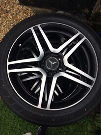 18x8j Mercedes Alloy Wheels