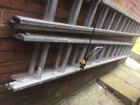 20 Tread Aluminium Extension Ladder for sale
