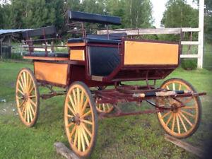 Wagonnette fait par Henri Meunier
