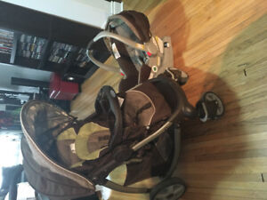 Graco stroller click and connect car seat combo