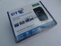 New Sealed BT Dual Band Wifi Extender 600 - Works with all Networks - For PC Laptop TV Gaming Xbox