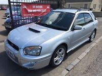 2004 SUBARU IMPREZA WRX TURBO, 1 YEAR MOT, SERVICE HISTORY, NOT ST RS VXR GT