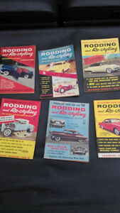 "1950's-60's ""Rodding & Re-Styling"" magazines ""Pocket Books"" (28)"