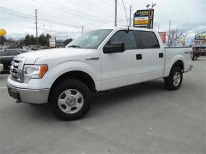 2012 FORD F-150 XLT    *4X4 SUPERCREW *