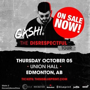 Hardcopy GASHI TICKETS!