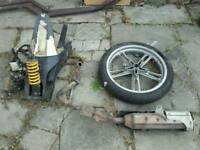 Motorbike parts spares