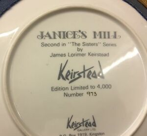 Keirstead Collector Plates