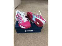 Ladies K-Swiss tennis shoes size 7.5
