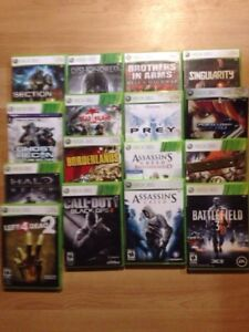 Xbox 360, Xbox One, PS 2 games